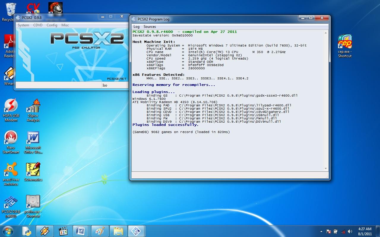 0.9.8 GRATUIT TÉLÉCHARGER BIOS PCSX2